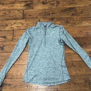 Nike Gray Quarter Zip